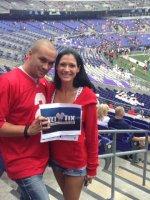 brent attended Navy Midshipmen vs. Ohio State Buckeyes - NCAA Football on Aug 30th 2014 via VetTix