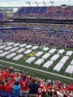 Mitchell attended Navy Midshipmen vs. Ohio State Buckeyes - NCAA Football on Aug 30th 2014 via VetTix