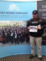Jeremy attended Masterworks 7 Season Finale Appalachian Spring - a Memorial Day Tribute - Presented by the Des Moines Symphony - Sunday on May 24th 2015 via VetTix