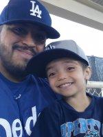 Robert  Puentes attended Los Angeles Dodgers vs. San Diego Padres - MLB on Aug 20th 2014 via VetTix