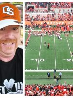 Jeffery attended Oregon State Beavers vs. Portland State - NCAA Football on Aug 30th 2014 via VetTix