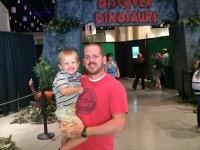 Patrick attended Discover the Dinosaurs - Saturday on Sep 13th 2014 via VetTix