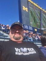 ROBERT attended University of Michigan Wolverines vs. Miami of Ohio - NCAA Football on Sep 13th 2014 via VetTix