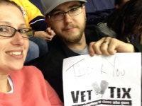 heather attended Nashville Predators vs. Arizona Coyotes - NHL on Oct 21st 2014 via VetTix