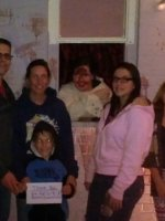 Michael, Cat, Tron, Hannah, and Sydney Howard and Falicia. attended Dewitt Haunted Theater on Oct 27th 2014 via VetTix