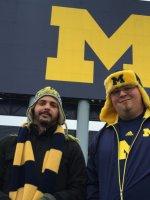 Christopher attended University of Michigan Wolverines vs. University of Maryland - NCAA Football on Nov 22nd 2014 via VetTix