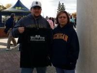 Stephen attended University of Michigan Wolverines vs. University of Maryland - NCAA Football on Nov 22nd 2014 via VetTix