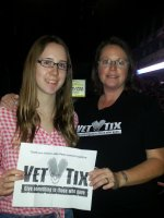 Jamie attended Jake Owen - Days of Gold Tour with the Cadillac Three and Eli Young Band on Oct 23rd 2014 via VetTix