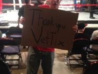 Becky attended Bounded Fist Muay Thai Fighting - Saturday on Oct 25th 2014 via VetTix