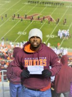 Hannabal attended Virginia Tech Hokies vs. Miami - NCAA Football on Oct 23rd 2014 via VetTix
