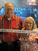 Jim USAF and Pat USN attended The Charlie Daniels Band Greatest Hits and Holiday Classics on Dec 11th 2014 via VetTix