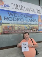 Robert attended 62nd Annual Parada Del Sol Rodeo 2015 on Feb 27th 2015 via VetTix