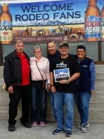 JR attended 62nd Annual Parada Del Sol Rodeo 2015 on Feb 28th 2015 via VetTix