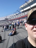 Matthew attended 2015 Daytona 500 - the Great American Race - Nascar Sprint Cup Series on Feb 22nd 2015 via VetTix