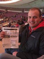 CALEB attended Detroit Pistons vs. New York Knicks - NBA - Ada / Handicapped Seating With Companion on Feb 27th 2015 via VetTix