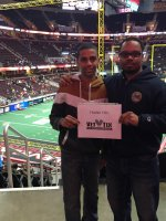 Amin attended Cleveland Gladiators vs. Tampa Bay - AFL on Apr 24th 2015 via VetTix