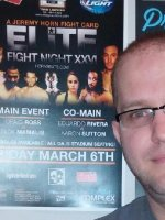 Chris attended Jeremy Horns Elite Fight Night - Mixed Martial Arts - Friday on Mar 6th 2015 via VetTix