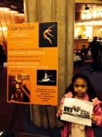 Terrance attended Gainsville Ballet Presents Carmina Burana  on Mar 20th 2015 via VetTix