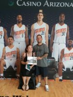 tyrone attended Phoenix Suns vs. New Orleans Pelicans - NBA on Mar 19th 2015 via VetTix