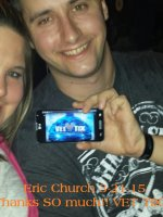 Nicholas attended Eric Church - the Outsiders World Tour on Mar 21st 2015 via VetTix