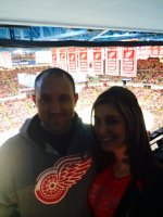 troy attended Detroit Red Wings vs. Arizona Coyotes - NHL on Mar 24th 2015 via VetTix
