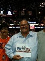 Carlos attended Phoenix Suns vs. Los Angeles Clippers - NBA on Apr 14th 2015 via VetTix