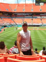 Humberto attended Florida Marlins vs St. Louis Cardinals (MLB) 8/07 on Aug 7th 2011 via VetTix