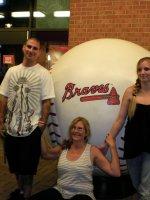 Kyle attended Atlanta Braves vs San Francisco Giants (MLB) 8/15 on Aug 15th 2011 via VetTix