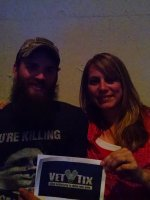 Taylor attended Eric Church - the Outsiders World Tour on Apr 24th 2015 via VetTix