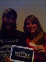 stacey attended Eric Church - the Outsiders World Tour on Apr 24th 2015 via VetTix