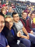 Larry attended Arizona State Sun Devils vs. Tennessee Tech - NCAA Men's Baseball - Military Appreciation Night on Apr 24th 2015 via VetTix