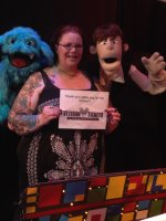 Christina attended Puppet Wars on May 15th 2015 via VetTix
