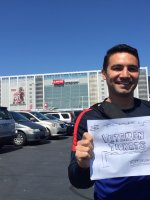Luciano attended San Jose Earthquakes vs. Orlando City Sc - MLS - Levi's Stadium - Military Appreciation on May 24th 2015 via VetTix