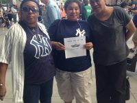 Sharon attended New York Yankees vs. Kansas City Royals - Memorial Day on May 25th 2015 via VetTix