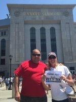 Michael attended New York Yankees vs. Kansas City Royals - Memorial Day on May 25th 2015 via VetTix