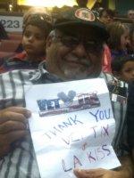 Earl attended La Kiss vs. Arizona Rattlers - Arena Football on Jun 27th 2015 via VetTix