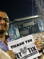 JUAN attended Kenny Chesney and Jason Aldean: Two Tours - One Big Night on Jul 25th 2015 via VetTix