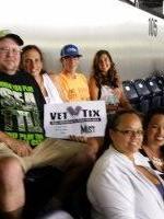 Mik P. attended Seattle Mist vs. Las Vegas Sin - Legends Football League - Women of the Gridiron - Saturday on Aug 1st 2015 via VetTix