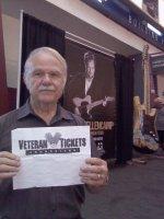 Bruce attended John Mellencamp - Plain Spoken Tour on Jul 29th 2015 via VetTix