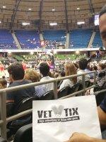 Adam attended San Antonio Stars vs. Washington Mystics - WNBA on Jul 31st 2015 via VetTix