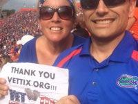 Cathy attended University of Florida Gators vs. Florida Atlantic - NCAA Football - Saluting Those Who Serve on Nov 21st 2015 via VetTix