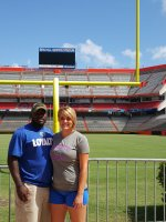 Rashaun attended University of Florida Gators vs. Florida Atlantic - NCAA Football - Saluting Those Who Serve on Nov 21st 2015 via VetTix