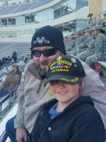 thomas attended Zaxby's Heart of Dallas Bowl - Washington Huskies vs. Southern Miss Golden Eagles - NCAA Football on Dec 26th 2015 via VetTix