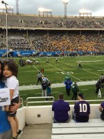 christopher attended Zaxby's Heart of Dallas Bowl - Washington Huskies vs. Southern Miss Golden Eagles - NCAA Football on Dec 26th 2015 via VetTix