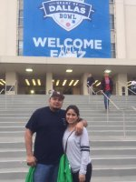 Luis attended Zaxby's Heart of Dallas Bowl - Washington Huskies vs. Southern Miss Golden Eagles - NCAA Football on Dec 26th 2015 via VetTix