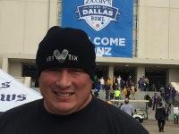 Anthony attended Zaxby's Heart of Dallas Bowl - Washington Huskies vs. Southern Miss Golden Eagles - NCAA Football on Dec 26th 2015 via VetTix