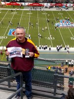 Richard attended 2016 Motel 6 Cactus Bowl - Arizona State Sun Devils vs. West Virginia Mountaineers - NCAA Football on Jan 2nd 2016 via VetTix