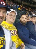 James attended 2016 Motel 6 Cactus Bowl - Arizona State Sun Devils vs. West Virginia Mountaineers - NCAA Football on Jan 2nd 2016 via VetTix