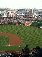 Mark attended Washington Nationals vs. Cincinnati Reds (MLB) 4 / 14. Saturday on Apr 14th 2012 via VetTix