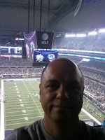 David attended Dallas Cowboys vs Miami Dolphins...NFL Preseason on Aug 29th 2012 via VetTix